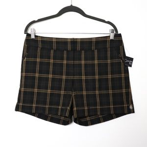 The Limited | NEW Cassidy Fit Plaid Cuff Shorts